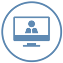 Webinar Icon, Analytic Focus