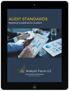 Analytic Focus, Audit Standards Statistical Guidelines